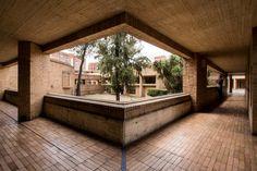 Facultad de Ciencias Humanas de la Universidad Nacional de Colombia, Bogotá   Arq. Rogelio Salmona 1995 17