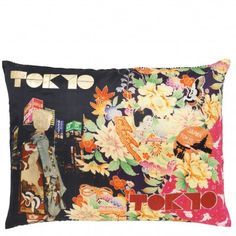 Christian Lacroix Digitally printed cotton cushion. 45 x 60cm