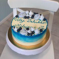 Birthday Cake, Desserts, Pink, Birthday Cakes, Deserts, Dessert, Postres, Pink Hair, Cake Birthday