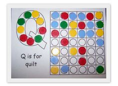 Letter Q Lesson Plan Ideas: Activities and Games | letter Q ... : q is for quilt - Adamdwight.com