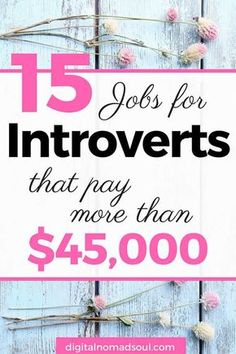 Online Jobs for Introverts, Work from home