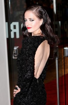 Stunning Celeb Eva Green 20 Exclusive Photos In Black Dress With High Quality Audrey Hepburn, Actress Eva Green, Nastassja Kinski, Green Photo, French Actress, Sensual, Celebrity Photos, Celebs, Actresses