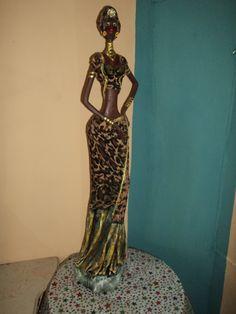 Hermosas Negras Africanas Artesanales En Masa Flexible - BsF 2.000,00 en MercadoLibre