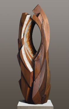 Sedonya Kay - Inside Space - Mixed Recycled Wood and a Mosaic of Cut Glass and Wood