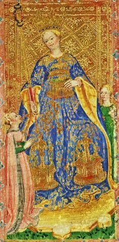 Tarot Queen of Batons