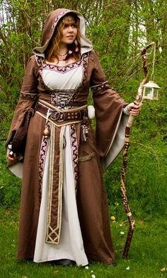 Medieval dress Lana by Azinovic
