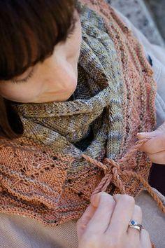 NobleKnits: Knit One Crochet Too Phoebe Scarf Knitting Pattern