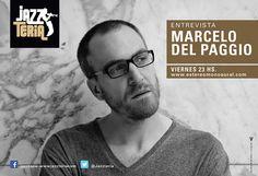 Flyer para Marcelo Del Paggio  Programa de Radio - Jazzteria