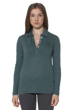 Polo Donna Fred Perry (BO-31052078 V0031) colore Verde