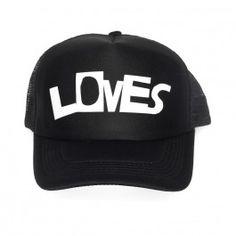 Beau Loves LOVES Cap black