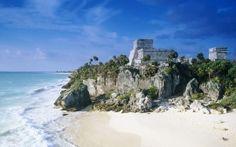 WALLPAPERS HD: Mayan Ruins Tulum Mexico