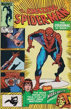 Amazing Spider-Man 259 1963 1st Series December 1984
