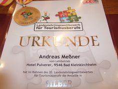 Silbermedaille im Lehrlingswettbewerb 2013 Andreas, Awards, Tableware, Cordial, Silver, Dinnerware, Tablewares, Dishes, Place Settings