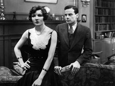 Claudette Colbert co-starring in Young Man of Manhattan with her first husband Norman Foster, 1930