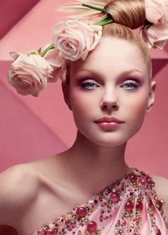 Christian Dior Fall Winter 2007 Advertising Campaign, Jessica Stam by Craig McDean.