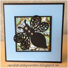 Randis hobbyverden: Allroundkort i blått og svart