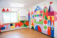 mary blair inspired mural - Google Search Playroom Mural, Wall Murals, School Murals, Mary Blair, Disney Artists, A Little Party, Toddler Rooms, Art Classroom, Small World