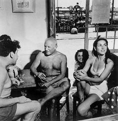 @Robert Goris Capa. Francoise & Picasso