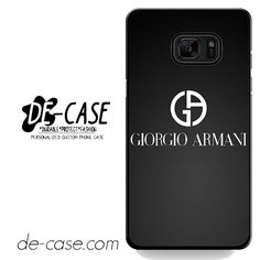 Giorgio Armani Black Logo DEAL-4656 Samsung Phonecase Cover For Samsung Galaxy Note 7