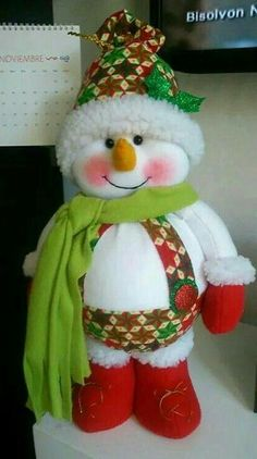 Christmas Crafts, Christmas Decorations, Christmas Ornaments, Holiday Decor, Raggedy Ann, Diy Home Crafts, Sewing For Kids, Snowman, Santa