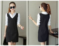 2016 mùa xuân và mùa hè phụ nữ Hàn Quốc mới giả hai Slim áo mỏng cô gái dài giản dị mùa hè - Taobao Trạm toàn cầu