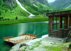 Domail Rainbow Lake, Astore Valley, located in the Gilgit Baltistan region of Pakistan. How Beautiful, Beautiful Places, Beautiful Pictures, Beautiful Sites, Beautiful Scenery, Amazing Places, Kashmir India, Pakistan Travel, India Tour