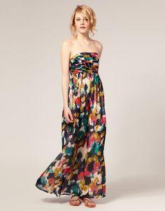 petite-multi-smudge-print-maxi-dress-