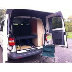 e2edc30fe1 Barn door awning for VW T5 Designed and manufactured exclusively for  Kiravans. Our new Barn