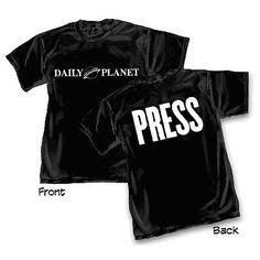 Superman Daily Planet Press T-Shirt