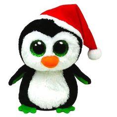 Igloo the beanie boo penguin