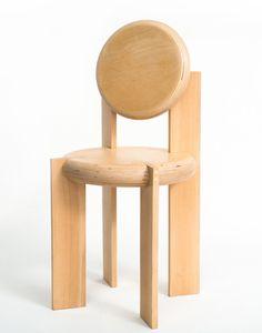 Penitentiary Chair N6 by Lado Lomitashvili