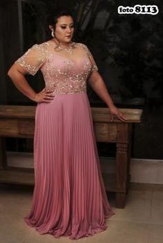 Coleção Safira - Vestidos Plus Size - Aiza Collection