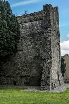 Maynooth Castle, co Kildare, Ireland (Gerald Fitzgerald. Earl of Kildare, ggf) (not Plunkett line) Castles In Ireland, Ireland Homes, Oh The Places You'll Go, Places To Visit, Beautiful Castles, Ireland Travel, Beautiful Islands, Historical Sites, Vacation Spots