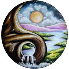 New Drawing Tattoo Ideas Creative Yin Yang 49 Ideas Arte Yin Yang, Yin Yang Art, Jing Y Jang, Art Hippie, Yin Yang Tattoos, Stone Art, Rock Art, Painted Rocks, Art Drawings