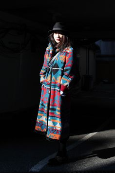 Pendleton style -- not an actual Pendleton, though. But we like it.