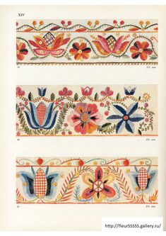 Estonian Folk Art Embroidery