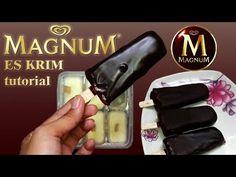 How to Make Original Magnum Ice Cream - Recipe for Ice Cream Walls Vanilla, Walls, The Originals, Youtube, Youtubers, Youtube Movies