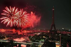 Feu d artifice a Paris
