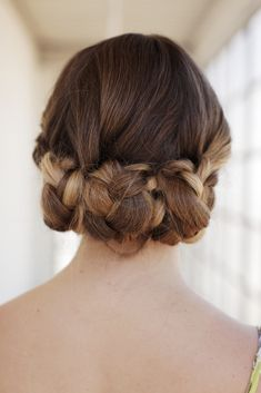 triple braided updo