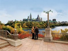Picture from Canada - Ottawa Fall Bridge Lookout Ottawa City, Ottawa River, Ottawa Canada, Cheap Travel, Touring, Ontario, Trip Advisor, The Good Place, Travel Destinations