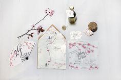 papeleria boda japones #invitaciones #boda #personalizadas #japon