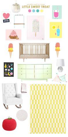 ice cream nursery ideas   Lay Baby Lay