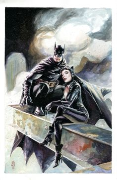 Batman & Catwoman - JG Jones