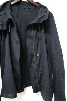 045079f50c71b Helmut Lang A w 2003 2004 Vintage Bondage Astro Moto Cotton Jacket