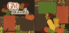 Give Thanks Page Kit