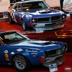 American Auto, American Motors, American Muscle Cars, Nascar Cars, Race Cars, Old Hot Rods, Amc Javelin, Old Muscle Cars, Road Racing