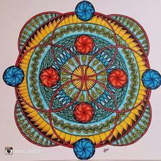 A fantastic piece from @bina_zen29 Mandala in color... #zentangle #art #illustration #drawing #draw #ink #picture #artist #sketch #sketchbook #paper #pen #pencil #artsy #instaart #beautiful #instagood #gallery #masterpiece #creative #photooftheday #instaartist #graphic #graphics #artoftheday