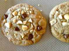 Weight Watchers Chocolate Chip Cookies with Salted Peanuts 2 PointsPlus #WeightWatchers #ChocolateChip #Cookies