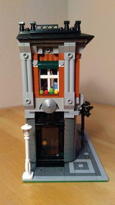 LEGO Ideas - Half Modular Glass Shop