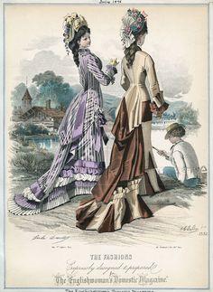 July. 1876, Englishwoman's Domestic Magazine